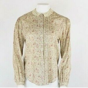 Vintage The Loggery Peasant Top